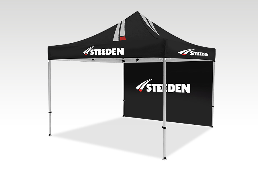 Pop Up Gazebo with Printed Canopy and Walls (3m x 3m)