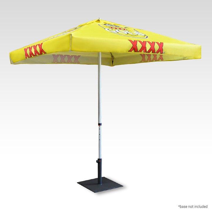 Full Colour Printed Market Umbrella