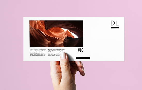 Try our DL Postcards