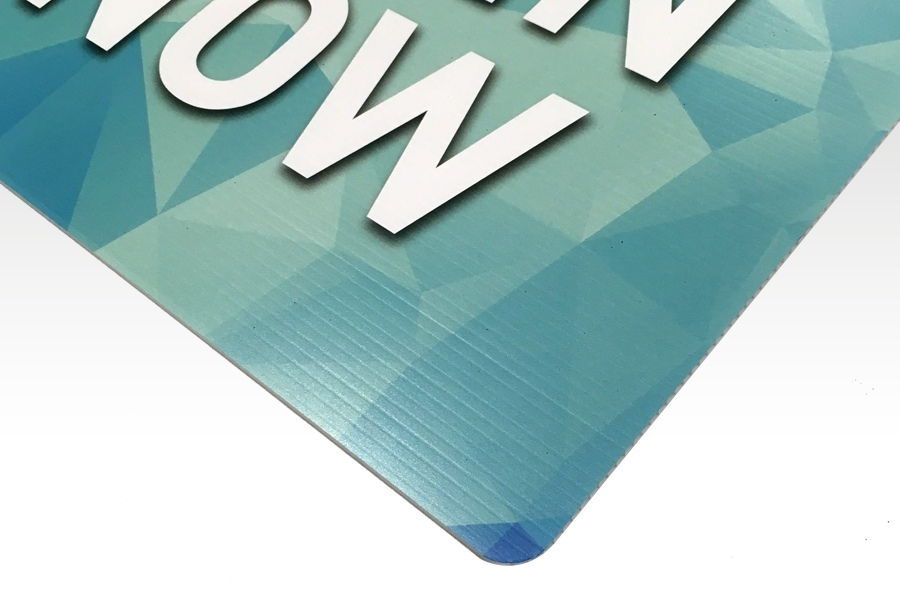 Signflute™ Corrugated Plastic Signs Cut to Shape
