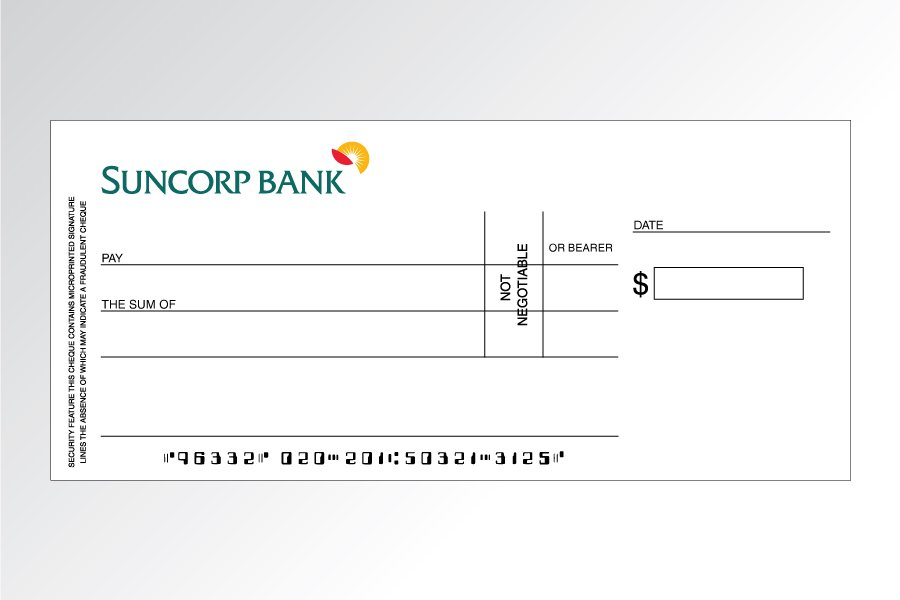 how to write a cheque australia