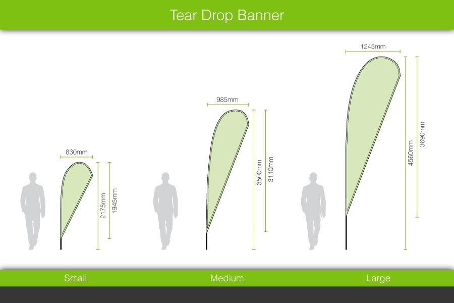 Teardrop Banners Amp Flags Easy Signs