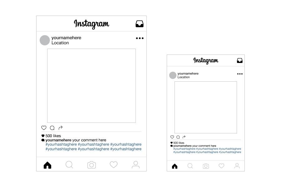 Instagram Template For Microsoft Word | MultiWebDirectory
