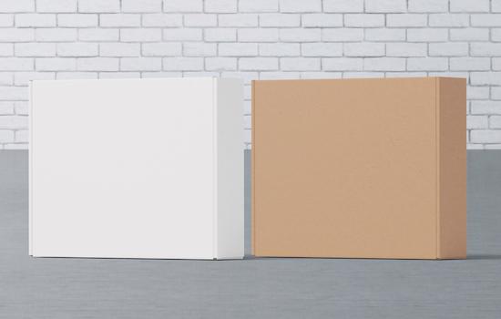 Kraft vs White Clay Coated Cardboard Stock